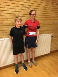 I double løb Emmelie og Jonas med sejren.